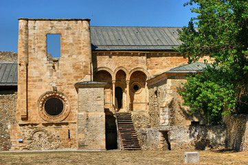 Ruins of Monastery of Carracedo on Bierzo