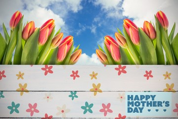 Composite image of mothers day greeting