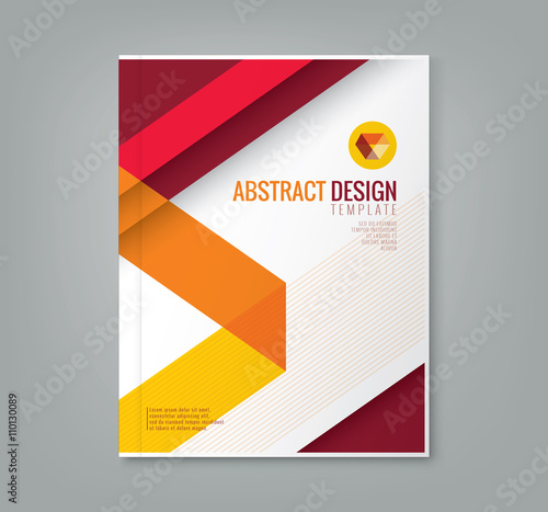 Abstract Book Cover Background ~ Quot abstract line design background template for business
