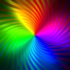 Fototapete - abstract colorful twist background