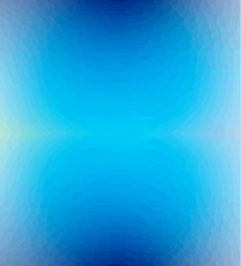 Blue abstract blurred background. Blue vector background with mosaic texture