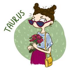 Horoscope. Zodiac signs-Taurus