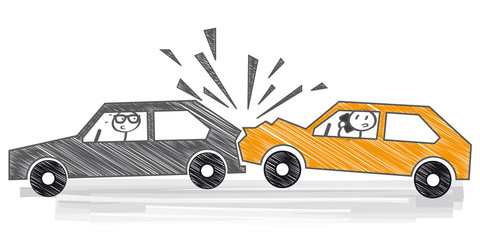 Car Accident Clipart Cartoon