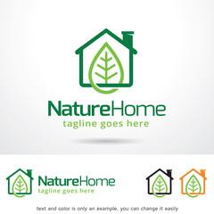 Nature Home Logo Template Design Vector