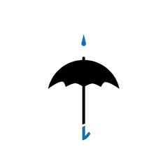 Umbrella with drop