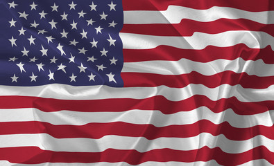 The USA Flag - background