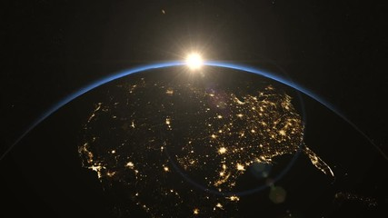 Search Photos Earth Spinning - Us light map