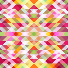 Abstract seamless background with geometric pattern, vector.