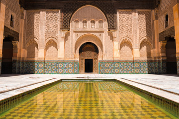 Medersa Ben Youssef, Marrakech (Morocco)