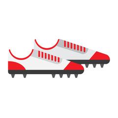 football boot flat icon