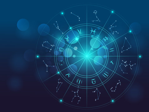 Astrology and alchemy sign background vector illustration