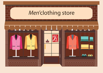 Clothing store Boutique.