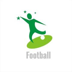 Super Soccer Logo Template