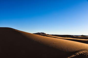 Sunset over Merzouga, Sahara Desert Morocco