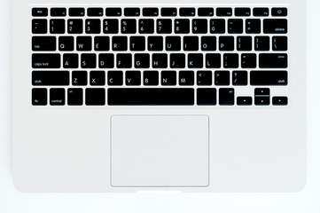 Laptop keyboard Wall mural