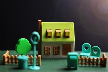 house real estate model
