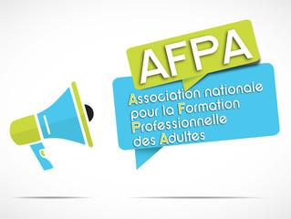 mégaphone : AFPA