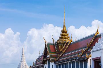 The palace is bangkok landmark , Thailand