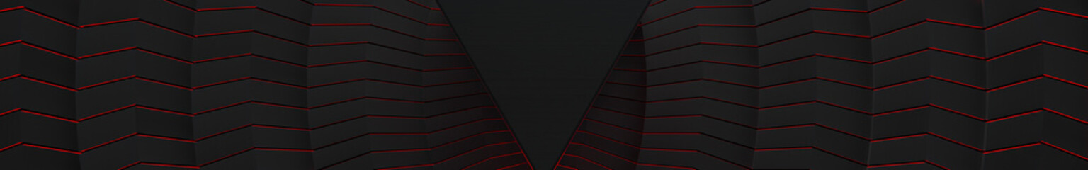 3D Aggressive Dark Glowing Background (Website Head)