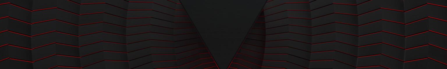 3D Aggressive Dark Glowing Background (Website Head)