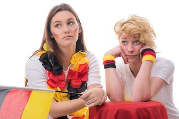 unglückliche deutschlandfans