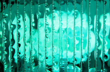 Abstract  background with stack of glass sheets. luminous texture