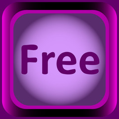 Icon violet word free