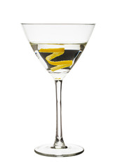lemon twist martini