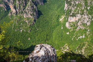 Vikos gorge in Zagoria, Greece