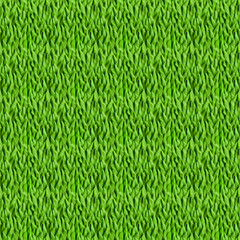 Green grass. Seamless pattern for your design. Plasticine modeli