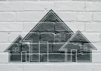 Art urbain, maison