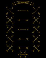 Battle arrows set