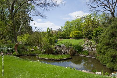 Jardin des plantes nantes photo libre de droits sur la for Achat jardin nantes