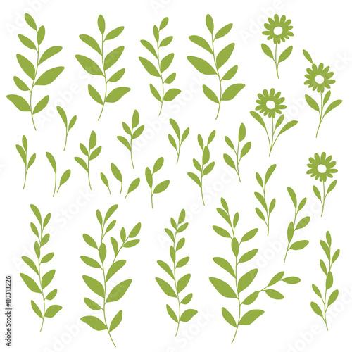 シンプルな植物のイラストfotoliacom の ストック画像とロイヤリティ