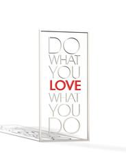 Do what you Love - Typo Rahmen - 3d