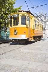 The historical trasportation of Porto - (Portugal)