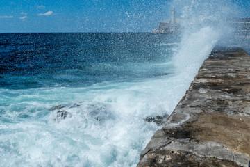 El Morro Leuchtturm Malecon Kuba