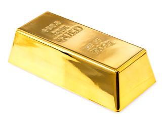 gold bullion close-up