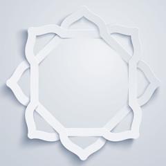 Islamic geometric pattern background