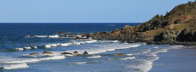 Coast scene in Port Macquarie