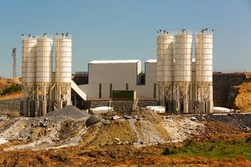 Ready mix concrete production plant