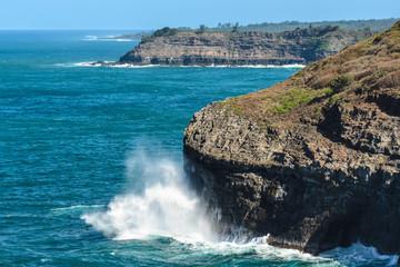 Cliffs Near Kilauea, Kauai, Hawaii