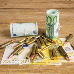 Money and bullets