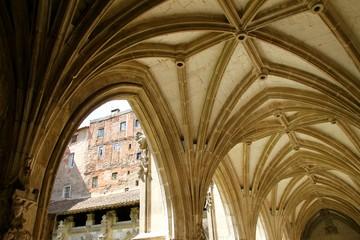 Le cloître de la Cathédrale Saint-Étienne de Cahors, Lot, France