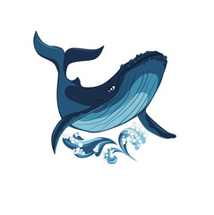 stylized whale image