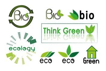 green icon, logo, vector, bio, ecology