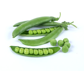 Fresh green pea
