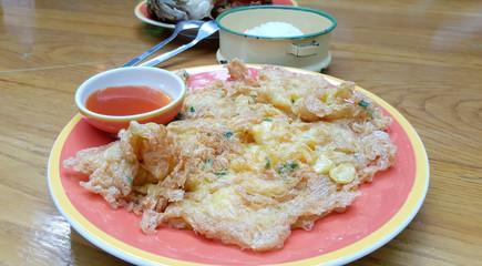 Thai style omelet