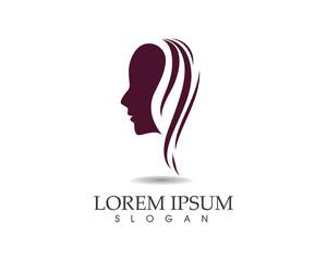 Beauty women spa and salon logo