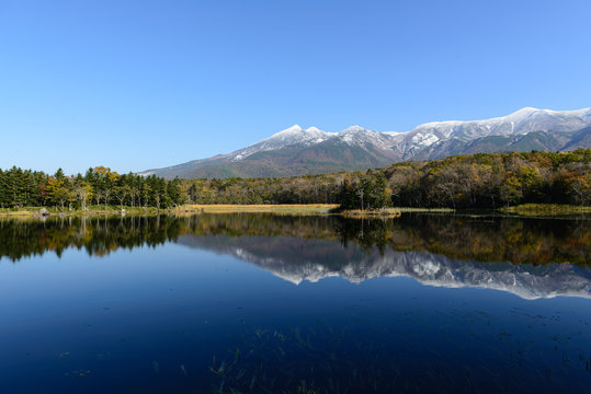 Japan Hokkaido Shiretoko Lake